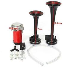 Cool 178DB Ultra Loud 12V Car Boat Truck Air Horn Compressor Tone Trumpet Kit