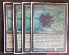 Mtg lotus bloom pre-release foil x 1 great condition