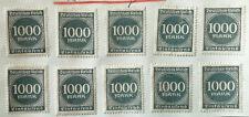 German Deutsches Reich 1000 Mark Stamp 1922