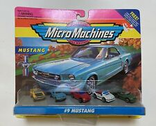 Micro Machines #9 Mustang Collection w/ 69 Shelby GT500 1964 Coupe 94 5.0 Coupe