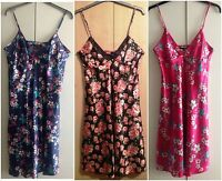 LADIES  SATIN CAMI/NIGHT DRESS IN UK SIZES 10/12, 14/16, 18/20