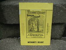Vintage Mechanic's Delight Tobacco Packaging Wrapper