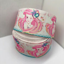 Yarda 1 Princesa Jasmine Tinkerbell Cinta del Grosgrain Torta Artesanal arco Ancho 38mm Reino Unido
