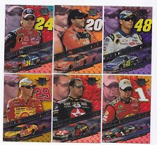 2008 High Gear FULL THROTTLE Complete 9 card set BV$25! Gordon, Johnson, Harvick