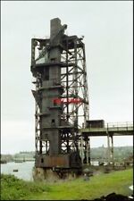 PHOTO  CARDIFF  COAL HOIST THE VERY LAST ONE! THERE WERE HUNDREDS IN SOUTH WALES