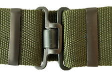 British Army Issue 95 Military Working/ Webbing Belt with Metal Buckle