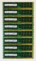 64GB Dell PowerEdge R710 8x8GB DDR3 PC3-10600R ECC SNPX3R5MC/8G A3002265
