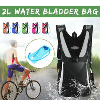 Hydration Pack Backpack Bag + 2L Water Bladder Bag For Hiking Outdoor Camping