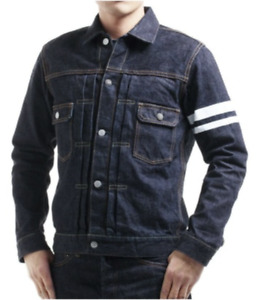 Momotaro 2105SP 15.7oz Zimbabwe Cotton Selvedge Denim Double Pocket Jacket
