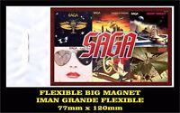 SAGA SILENT KNIGHT FLEXIBLE BIG MAGNET IMAN GRANDE 0140