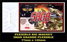 SAGA SILENT KNIGHT FLEXIBLE BIG MAGNET IMAN GRANDE 0140