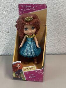 "Disney Princess Merida Mini Toddler 3"" poseable figure NEW"