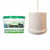 schwarz Fresseimer Eimer Futtereimer PFIFF Futterschale für Weide und Stall