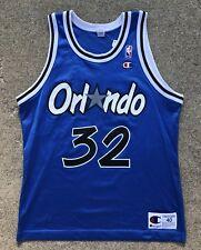 Rare Vintage Shaq O'Neal 32 Orlando Magic Nba Champion Jersey Size 40