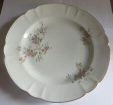 Grand plat fleuri « Limoges France Authentique »