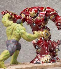 Hulk vs Iron Man Hulkbuster Kotobukiya ArtFX Statue Set NIB