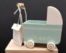 Maileg Rabbit Accessories - Pram Micro Blue. BNWT.  Boxed. RRP £24.50