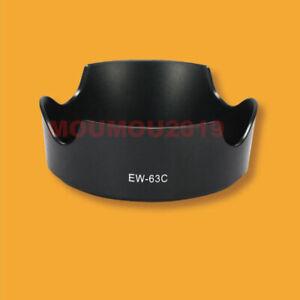 Slip-On EW-63C Lens Hood Sun Shade For Canon EOS EF-S 18-55mm f/3.5-5.6 IS STM