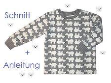 Schnitt+ Nähanleitung Pullover / Sweatshirt in 7 Größen als Ebook