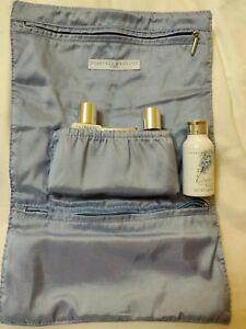Crabtree & Evelyn Wisteria Discontinued powder soap lotion gel travel makeup bag