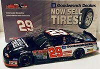 Kevin Harvick 2002 Action 1/24 #29 GM Goodwrench Dealers We Sell Tires Diecast