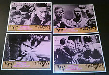 Lobby Card 4 lot~ NAKED AMONG THE WOLVES ~1963 ~Jewish child ~Nazi army