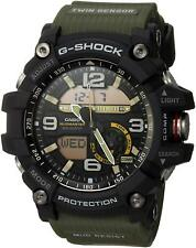 Casio G-Shock Mudmaster Green Water Shock Mud Resistant Men's WristWatch