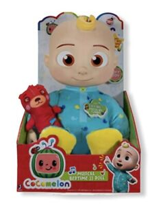 """Cocomelon Doll Plush Roto JJ Bedtime Soft 10"""" Sing Toy Youtube 🐻NEW! FAST SHIP!"""