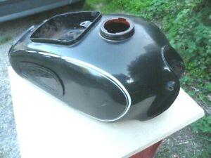 Motos BMW R26 et R27: réservoir d'essence nu avec peinture d'origine .