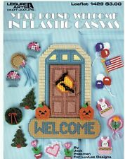 YEAR  ROUND  WELCOME Plastic Canvas  PATTERN LEAFLET #1429  (#293)