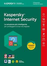 Kaspersky Internet Security 3 utenti 1 anno - informatica Software #0002