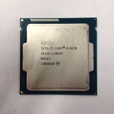 New listing Intel Core i5-4570 3.20Ghz | 6Mcache | 4Cores | Fclga1150 | Cpu Processor Sr14E