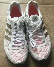 New Adidas Adizero Adios 3 White Running Shoes Womens Sneakers BB6409 Sz 7
