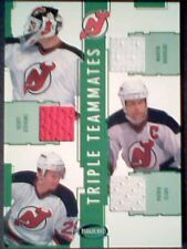AUTHENTIC NEW JERSEY DEVILS TEAMMATES PIECES OF GAME-USED MEMORABILIA /60 SP