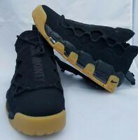 Size 8.5 MEN'S Nike Air More Money UPTEMPO Black AJ2998-004 BASKETBALL SHOES