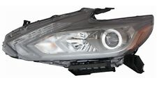 Fit NISSAN ALTIMA 2016 2017 LED HEADLIGHTS DRIVER HEAD LAMP BLACK - LEFT
