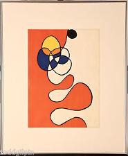 Alexander Calder (1898-1976) Derrier le Miroir #173 Pl. 6 Lithograph 1968 ~19x23