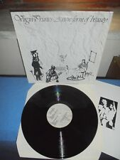 "VIRGIN PRUNES ""A NEW FORM OF BEAUTY"" LP NEW ROSE FRANCE 1993 - INSERT"