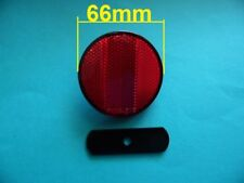 Shine eye M-823.bike basket round reflector red diameter 66mm