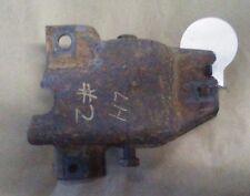 70-81 CAMARO FIREBIRD TA LH LEAF SPRING POCKET BRACKET LH DRIVER SIDE REAR # 2
