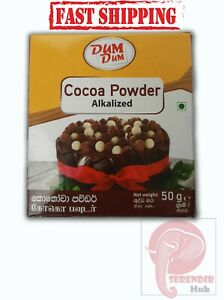 Dum Dum Pure Cocoa (Cacao) Powder Alkalized Cake Recipe 50g High Premium Quality