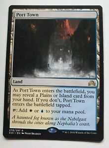 MTG Port Town - Shadows Over Innistrad Rare