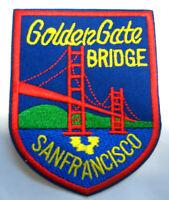 Aufnäher Patch Golden Gate Brücke Bridge San Francisco USA