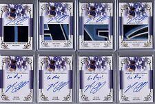 2013 Leaf Trinity Draft Nick Ciuffo Inscription Silver Auto 10/10 RC Rays