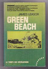 GREEN BEACH James LEASOR  WW2 Dieppe 1942