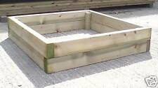 "Raised Planter Bed ~ 900 x 900 x 200 [3'x3'x8""]"
