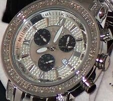 New Authentic  Mens JOJO Joe Rodeo Tyler 2.00ct.aprx.real Diamond Watch JTY5