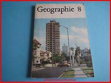 DDR Schulbuch / Lehrbuch -Geographie Klasse 8 Ausgabe 1983 Softcover guter Zust