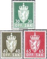 Norwegen D86y,D87y,D90y (kompl.Ausg.) postfrisch 1969 Staatswappen