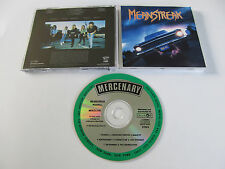 MEANSTREAK Roadkill CD 1988 FEMALE THRASH MEGA RARE ORIG. 1st PRESS MERCENARY!!!